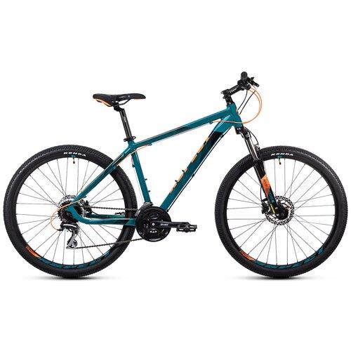 велосипед горный scott aspect 950 269806 черный бронза размер рамы m Горный (MTB) велосипед Aspect Stimul 27.5 (2021) синий/оранжевый 20 (требует финальной сборки)