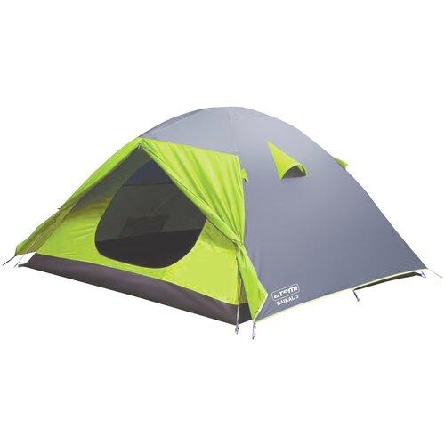 Палатка ATEMI BAIKAL 3 CX серый/зеленый недорого