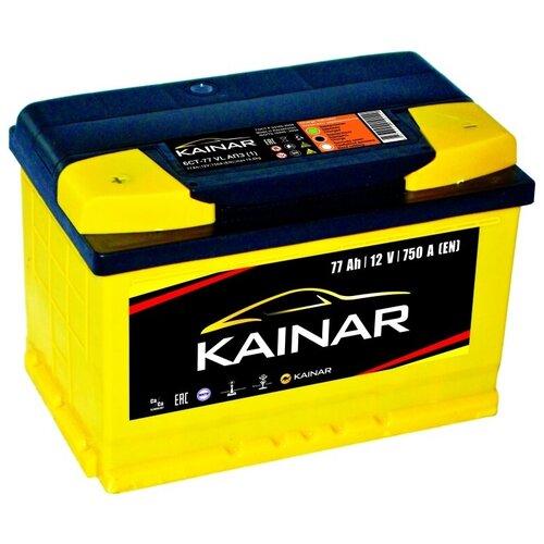 Автомобильный аккумулятор Kainar 6СТ-77 VL АПЗ п.п.