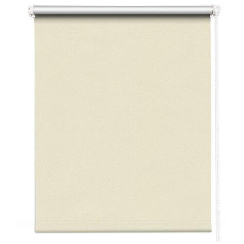 штора рулонная плайн 80х175 см кремовый Рулонная штора MROLLS D12 (кремовый), 80х175 см