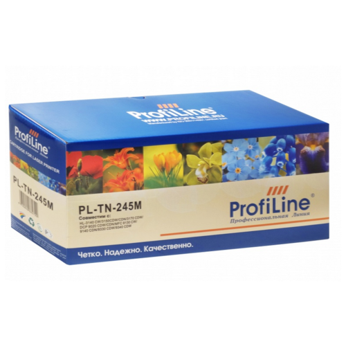 Картридж ProfiLine PL-TN-245M-M, совместимый картридж profiline pl tn 241bk bk совместимый