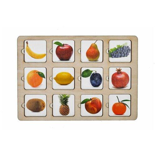 Настольная игра SmileDecor Секретики Фрукты-Ягоды П201 настольная игра smiledecor сумка игралка овощи фрукты и ягоды