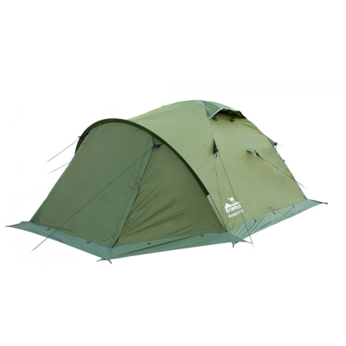 Палатка Tramp MOUNTAIN 2 V2 зеленый