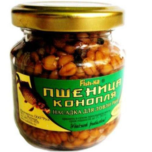 Насадка ''пшеница-конопля'' FISHKA Х Decathlon