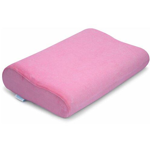 Подушка Nuovita ортопедическая Neonutti Bambino Memoria 26 х 38 см розовый