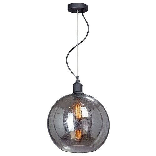 Фото - Светильник Vitaluce V4847-1/1S, E27, 40 Вт, кол-во ламп: 1 шт., цвет арматуры: черный, цвет плафона: серый светильник vitaluce v4849 1 1s e27 40 вт