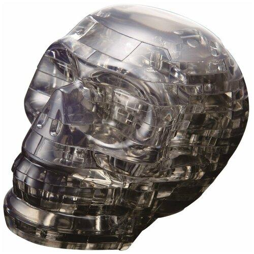 Фото - 3D-пазл Crystal Puzzle Черный череп (90217), 49 дет. 3d пазл crystal puzzle дельфин 91004 95 дет