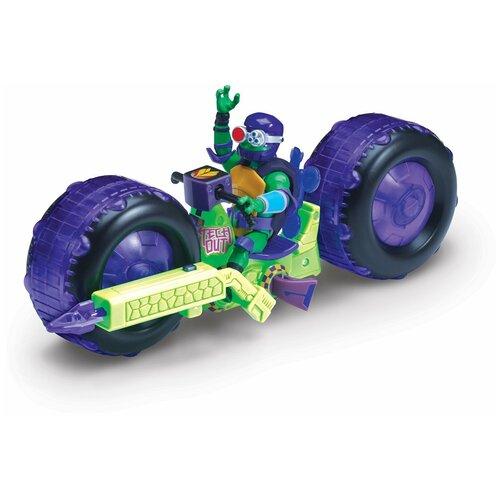 Фигурка Playmates TOYS Rise of the Teenage Mutant Ninja Turtles: Мотоцикл с фигуркой Донни 82482