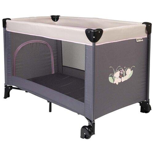 Купить Манеж-кровать Nattou Playpen 120х60 см Iris & Lali, Манежи