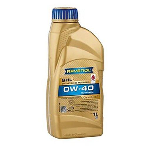 Синтетическое моторное масло Ravenol SHL SAE 0W-40 1 л моторное масло ravenol super synthetik öl ssl sae 0w 40 5 л