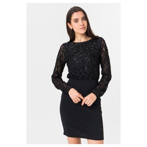 Платье Vero moda 10221643 женское Цвет Черный Black Однотонный р-р 40 XS майка vero moda 10212778 размер xs черный