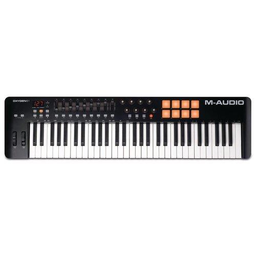 MIDI-клавиатура M-Audio Oxygen 61 MK IV черный