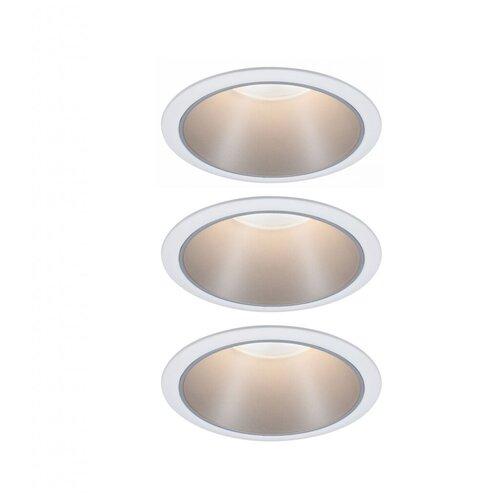 Фото - Встраиваемый светильник Paulmann 93410 3 шт встраиваемый светильник paulmann 92521 3 шт