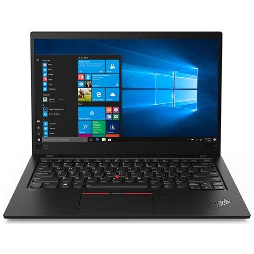 Фото - Ноутбук Lenovo THINKPAD X1 Carbon Ultrabook (7th Gen) (20QD0036RT), Black Paint ноутбук lenovo thinkpad x1 extreme 3 20tls0mc00 20tls0mc00