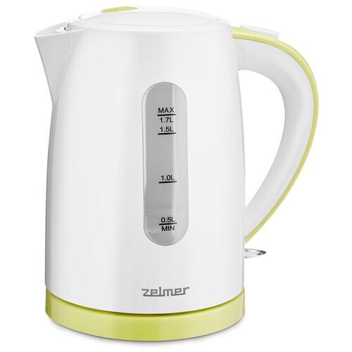 Чайник Zelmer ZCK7616, белый/салатовый