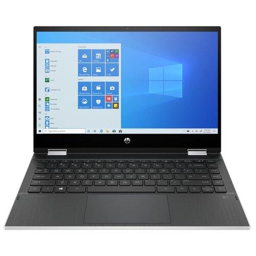 "Ноутбук HP PAVILION x360 14-dw1005ur (Intel Core i3 1115G4 3000MHz/14""/1920x1080/8GB/256GB SSD/Intel UHD Graphics/Windows 10 Home) 2X2R0EA естественный серебристый/пепельно-серебристый"