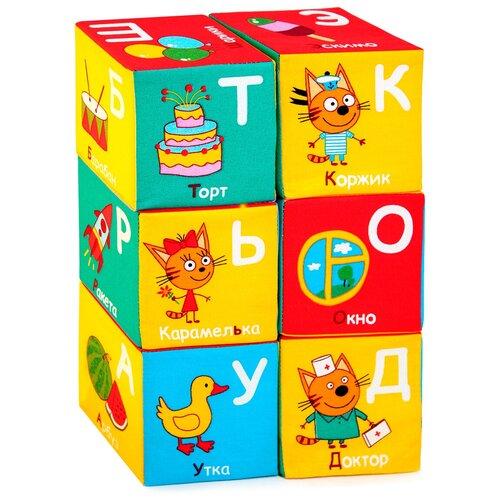 Кубики Мякиши Три Кота Алфавит