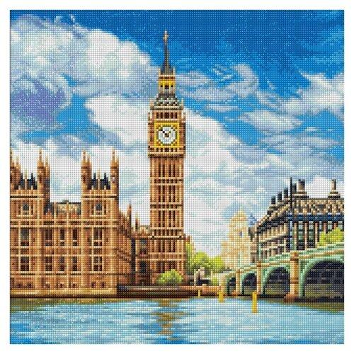 ФРЕЯ набор алмазной вышивки Лондон. Палата лордов (ALVA-04) 40х40 см