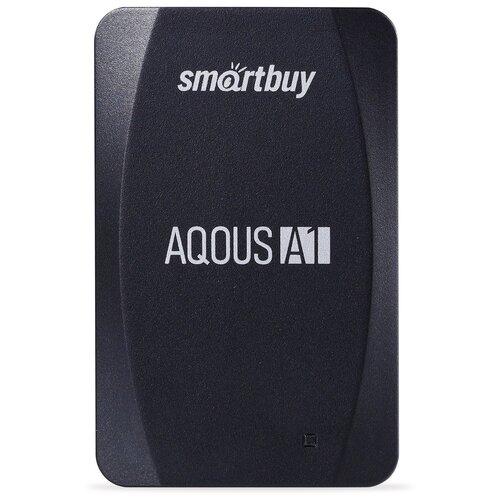 Фото - Внешний SSD Smartbuy Aqous A1 128GB USB 3.1 ЧЕРНЫЙ внешний ssd smartbuy aqous a1 512gb usb 3 1 серый