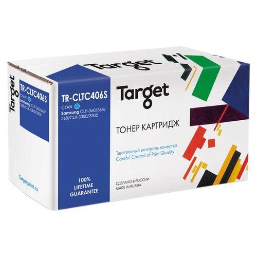 Фото - Картридж Target TR-CLTC406S, совместимый картридж target tr ce390x совместимый