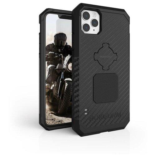 Противоударный чехол-накладка Rokform Rugged Case для iPhone 11 Pro Max со встроенным магнитом.. Материал: поликарбонат. Цвет: черный.