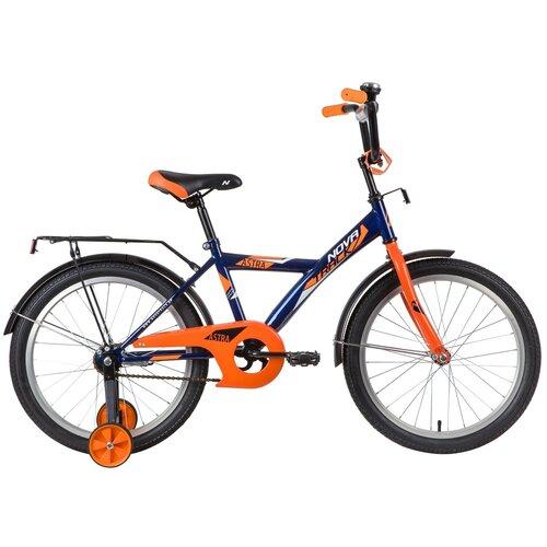 Фото - Детский велосипед Novatrack Astra 20 (2020) синий (требует финальной сборки) детский велосипед novatrack urban 20 2019 синий требует финальной сборки
