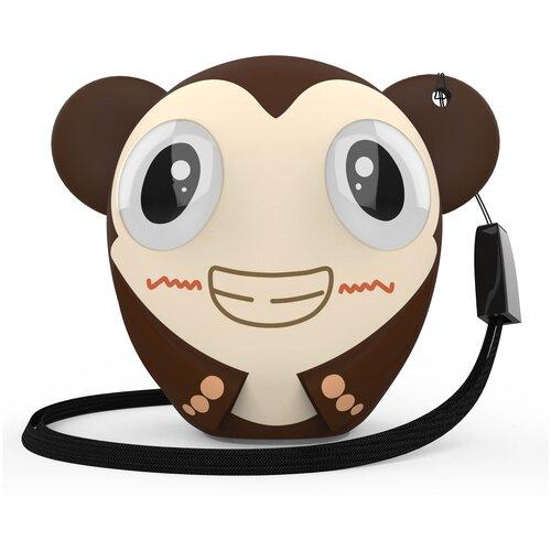 Фото - Портативная акустика HIPER ZOO Music Monkey, коричневый портативная колонка hiper zoo music мартышка 3вт коричневый [h oz7]