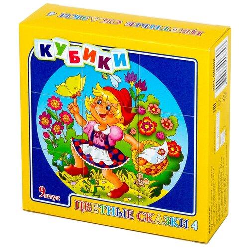 Кубики-пазлы Десятое королевство Цветные сказки-4 00682 кубики пазлы десятое королевство цветные сказки 3 00681