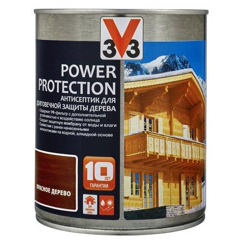 V33 Power Protection красное дерево 0.9 л