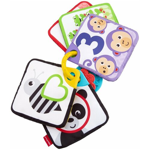 Подвесная игрушка Fisher-Price Мягкие карточки