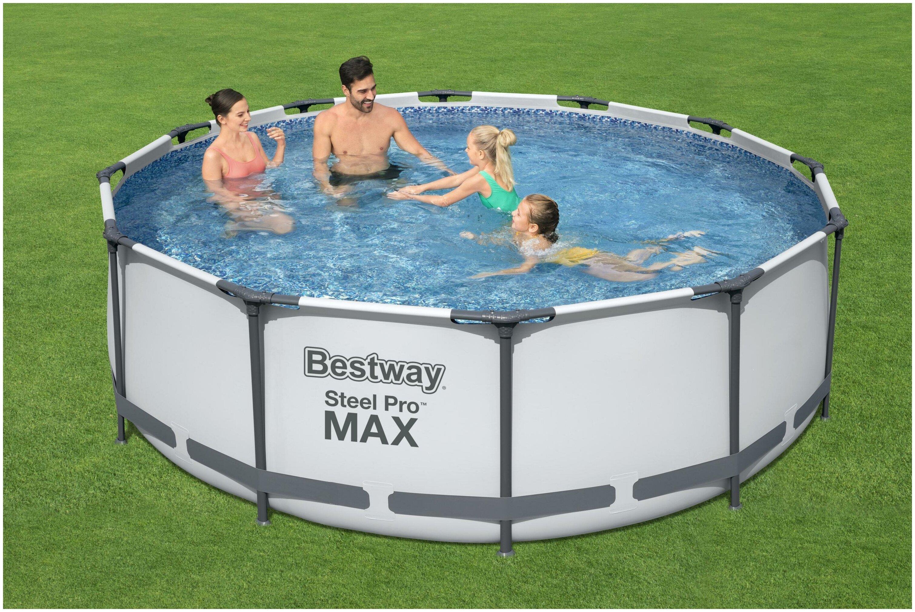 Бассейн Bestway Steel Pro MAX 56418