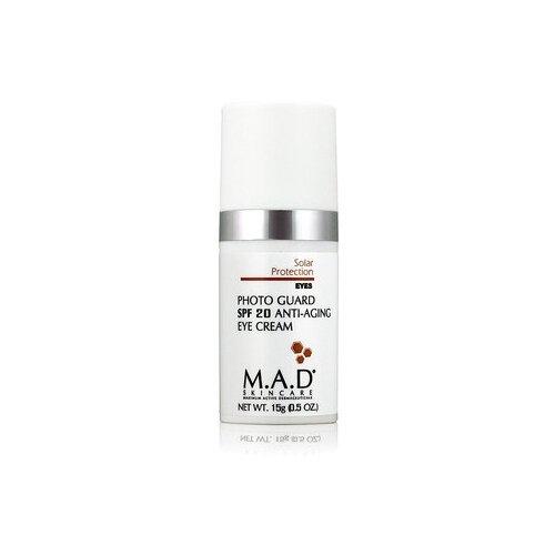 M.A.D. Антивозрастной крем для глаз с защитой spf 20, 15 гр
