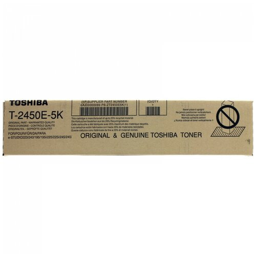 Фото - Картридж Toshiba T-2450E5K (6AJ00000089) картридж toshiba t fc50ek