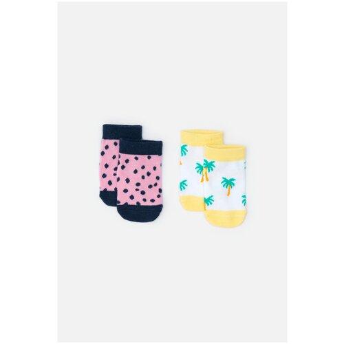 Носки в наборе из 2 пар размер 9-10, цветной, ТМ Acoola, арт. 20254420012