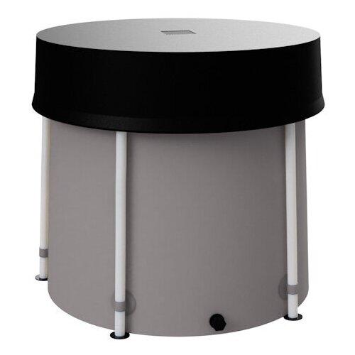 Складная ёмкость (бак/бочка) для воды EKUD 300 литров с крышкой (h=70, d=74)