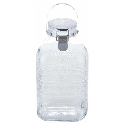 Фото - Glasslock Банка для хранения IP-635 2000 мл прозрачная банка для хранения солений ягод варенья 4 л 16х13 5х29 см ip 636 glasslock