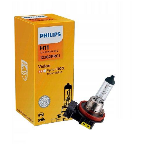 Лампа автомобильная галогенная Philips 12362PRC1 H11 12V 55W 1 шт.