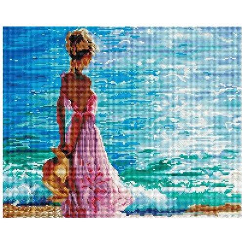 Купить Алмазная вышивка Painting Diamond На морском берегу , 50x40, Алмазная живопись, Алмазная мозаика