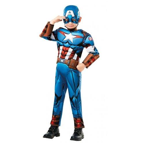 Купить Костюм Капитан Америка, размер 116 см., RUBIE'S, Карнавальные костюмы