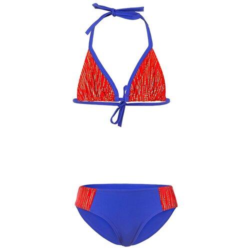 Купить Купальник двухпредметный для девочек, ALIERA, К 21.59, размер 140-146, Белье и купальники