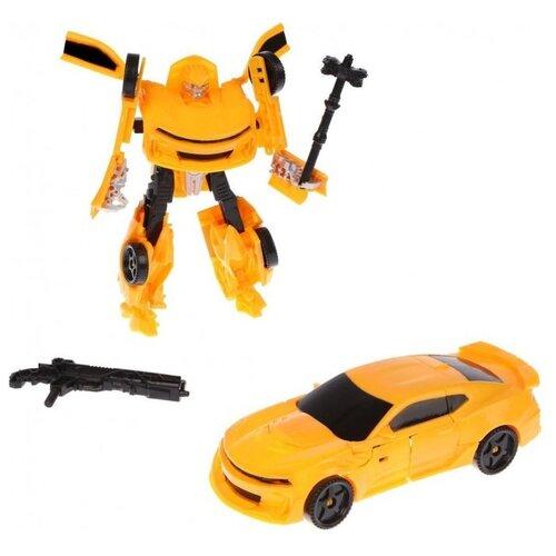 Купить Робот-трансформер Наша игрушка HF888-2AB желтый/черный, Роботы и трансформеры