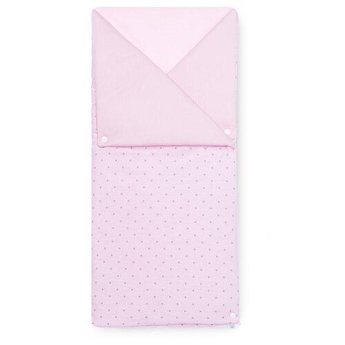 Купить Конверт-одеяло Kidboo Sweet Flowers 90 см розовый, Конверты и спальные мешки