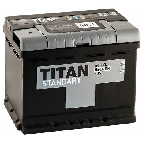 Автомобильный аккумулятор TITAN STANDART 6CT-60.1 VL