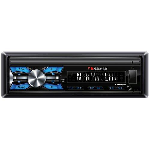Автомагнитола Nakamichi NQ615B USB/ AUX/ Вluetooth 4х50 вт/ съемная панель
