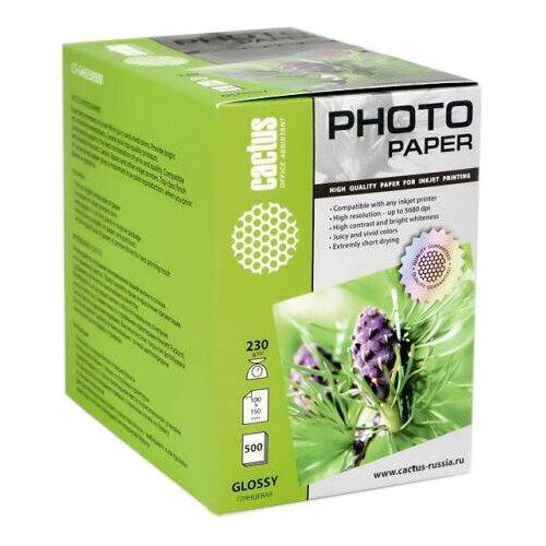 Фото - Бумага cactus A6 CS-GA6230500 230 г/м² 500 лист., белый бумага lomond a6 0102082 230 г м2 500 лист