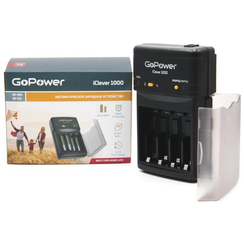 Фото - Зарядное устройство для аккумуляторов GoPower iClever 1000 Ni-MH/Ni-Cd 4 слота messages 4 workbook cd rom