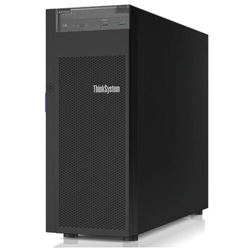 "Сервер Lenovo ThinkSystem ST250 7Y45A049EA 1 x Intel Xeon E-2276G 3.8 ГГц/16 ГБ DDR4/без накопителей/количество отсеков 2.5"" hot swap: 8/1 x 550 Вт/LAN 1 Гбит/c"