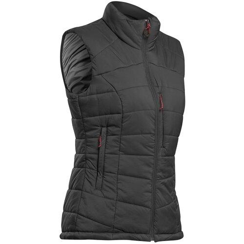 Жилет пуховый для треккинга в горах женский TREK 500, размер: XS, цвет: Черный FORCLAZ Х Декатлон