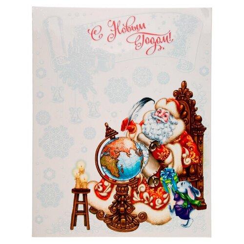 Фото - Наклейка Феникс Present Дедушка со списком 30 x 38 см наклейка феникс present морозный узор 54 x 21 см