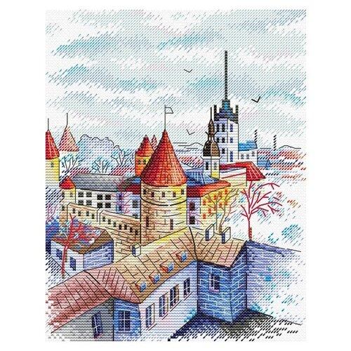Жар-птица Набор для вышивания Башни Таллина 18 x 22 см (М-524)